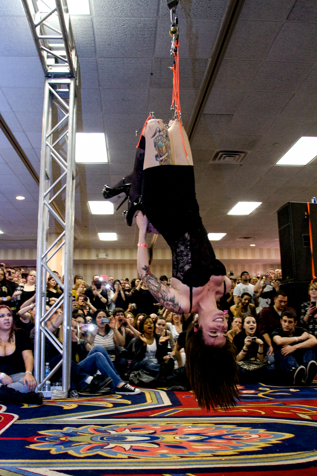 Miss Crash Suspension @ Philadelphia Tattoo Convention