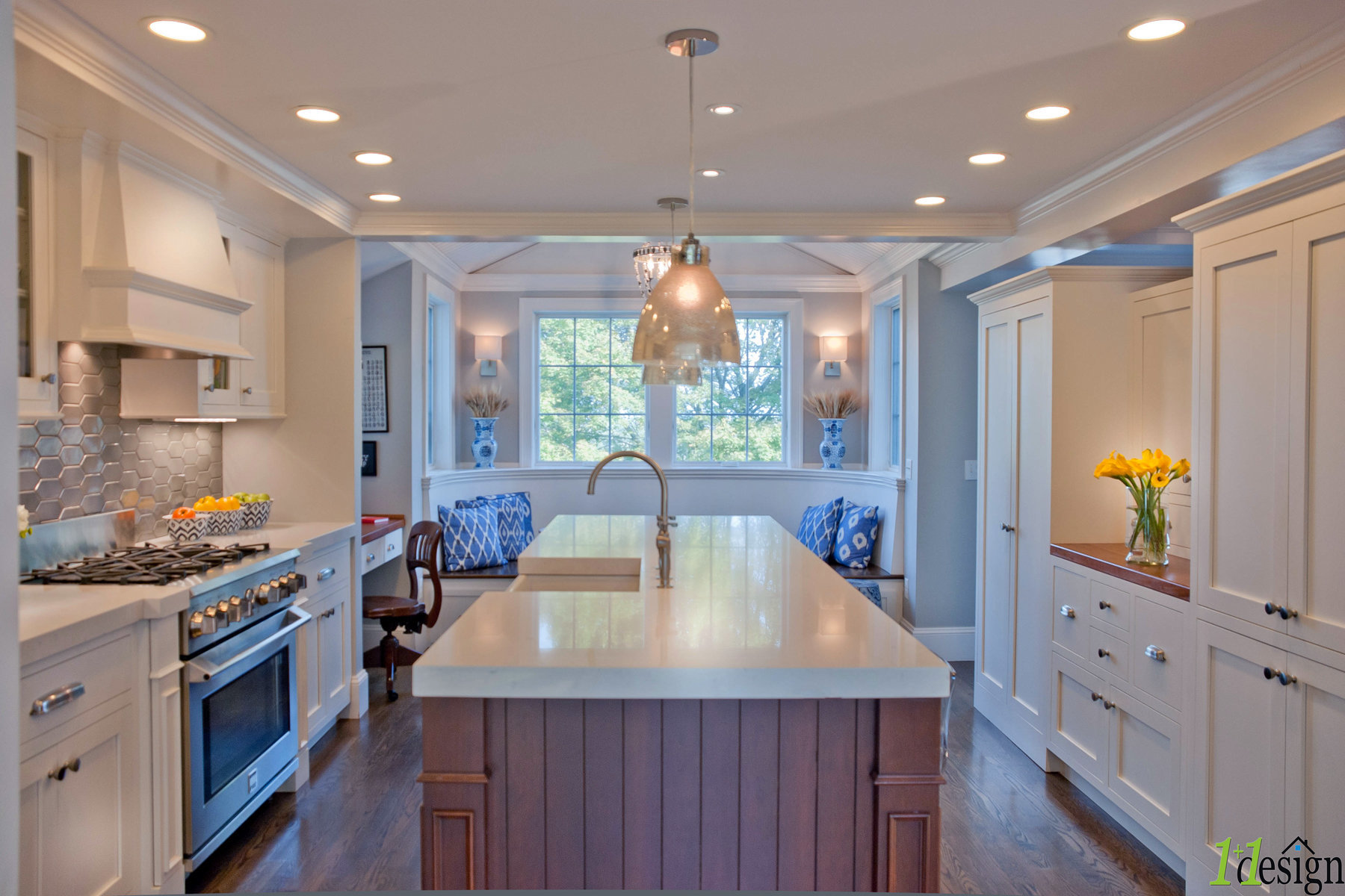 Additions and renovations to a Bradley Park home in Hingham, Ma