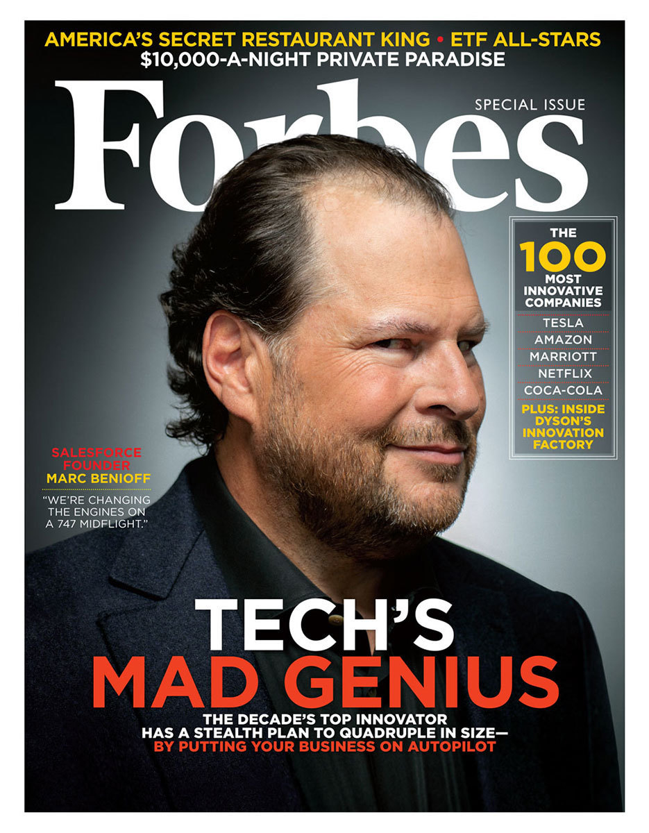 Mark Benioff for Forbes