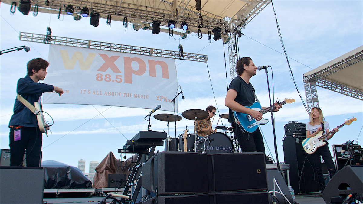 Lo Moon 25 Years of XPoNential Music Festival  River Stage Camden, NJ July 29, 2018  DerekBrad.com