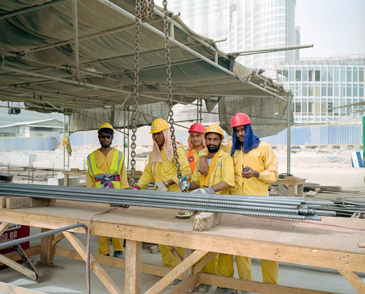 Dubai Laborers at Burj Dubai
