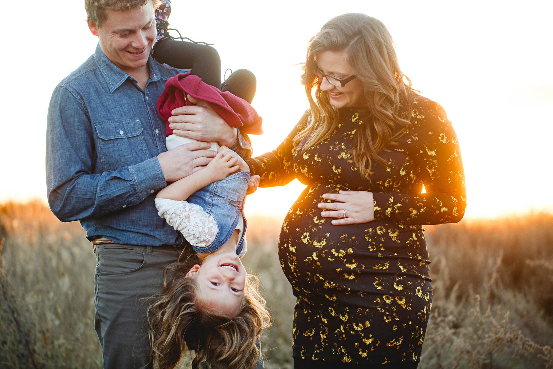 Maternity Sunset Picture