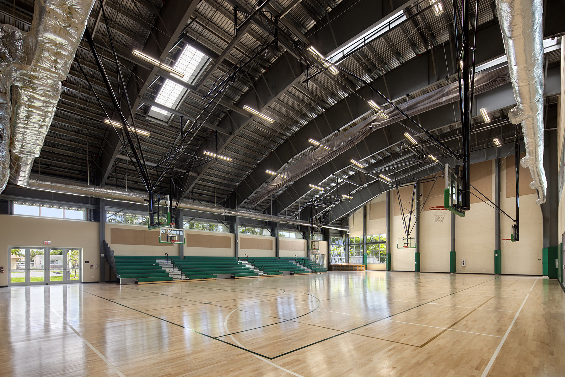 Basketball Court at Joe Celestin Center at Claude Pepper Park, North Miami