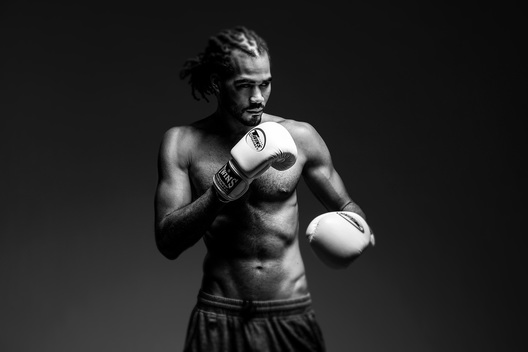 boston model boxing headshot