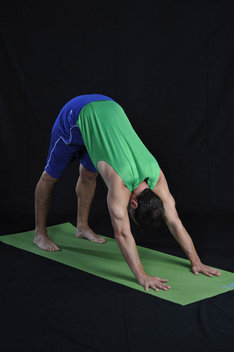 Strengthens arms, wrists and abdomens. Increases flexibility in spine.