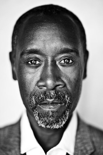 Don Cheadle, actor and director of the Miles Davis biopic 'Miles Ahead', photographed at The Spare Room, Roosevelt Hotel, Los Angeles, CA March 9 2016.