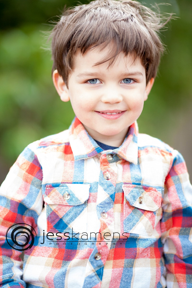 a school portrait from a Rochester NY family photographer who also creates senior pictures