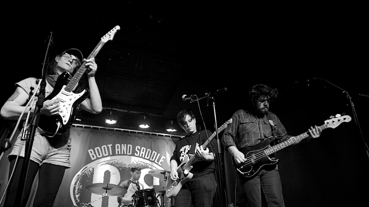 Mal Blum and The Blues Boot & Saddle Philadelphia, Pa March 8, 2018  DerekBrad.com