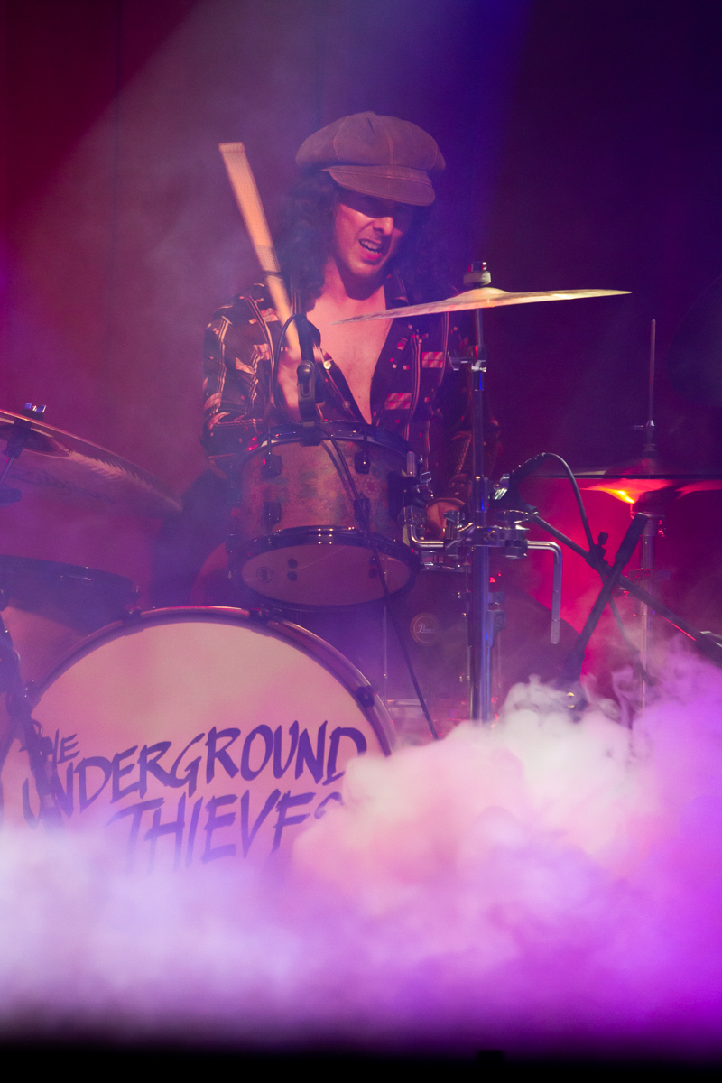 Nick Perri and The Underground Thieves Virtual Fan Party Live Stream Album release event The Ardmore Music Hall Ardmore, Pa August 14, 2020  DerekBrad.com