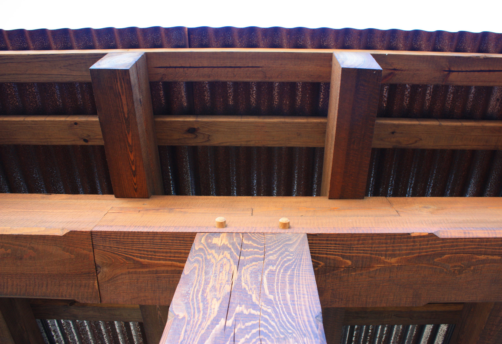 Timber framing detail