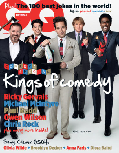 British GQ Comedy Issue
