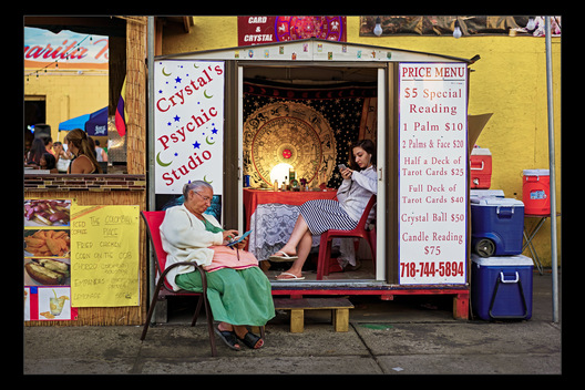 fortune tellers, Coney Island