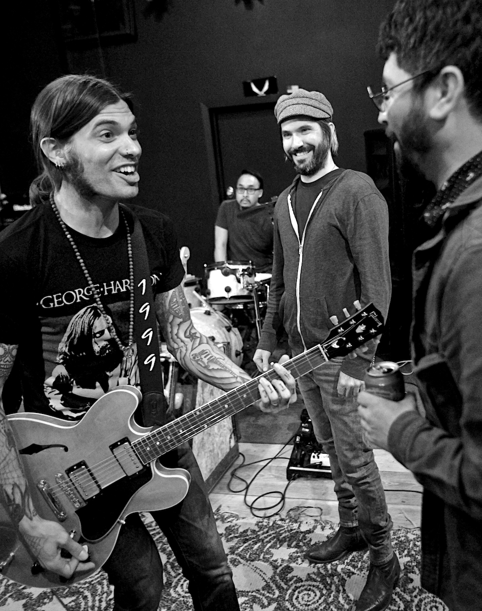 The Underground Thieves Rehearsal 1 Rhawn Street Studios Philadelphia, Pa May 8, 2018  DerekBrad.com