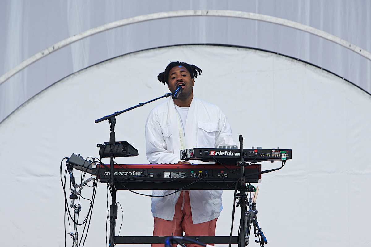 Sampha Made In America Rocky Stage Benjamin Franklin Parkway Philadelphia, Pa September 2, 2017  DerekBrad.com