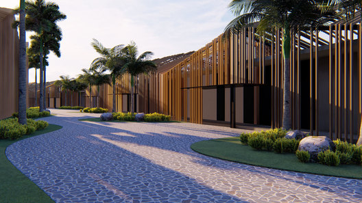 INDONESIA BATAM TREEHOUSE RESORT HOTEL FACADE DESIGN