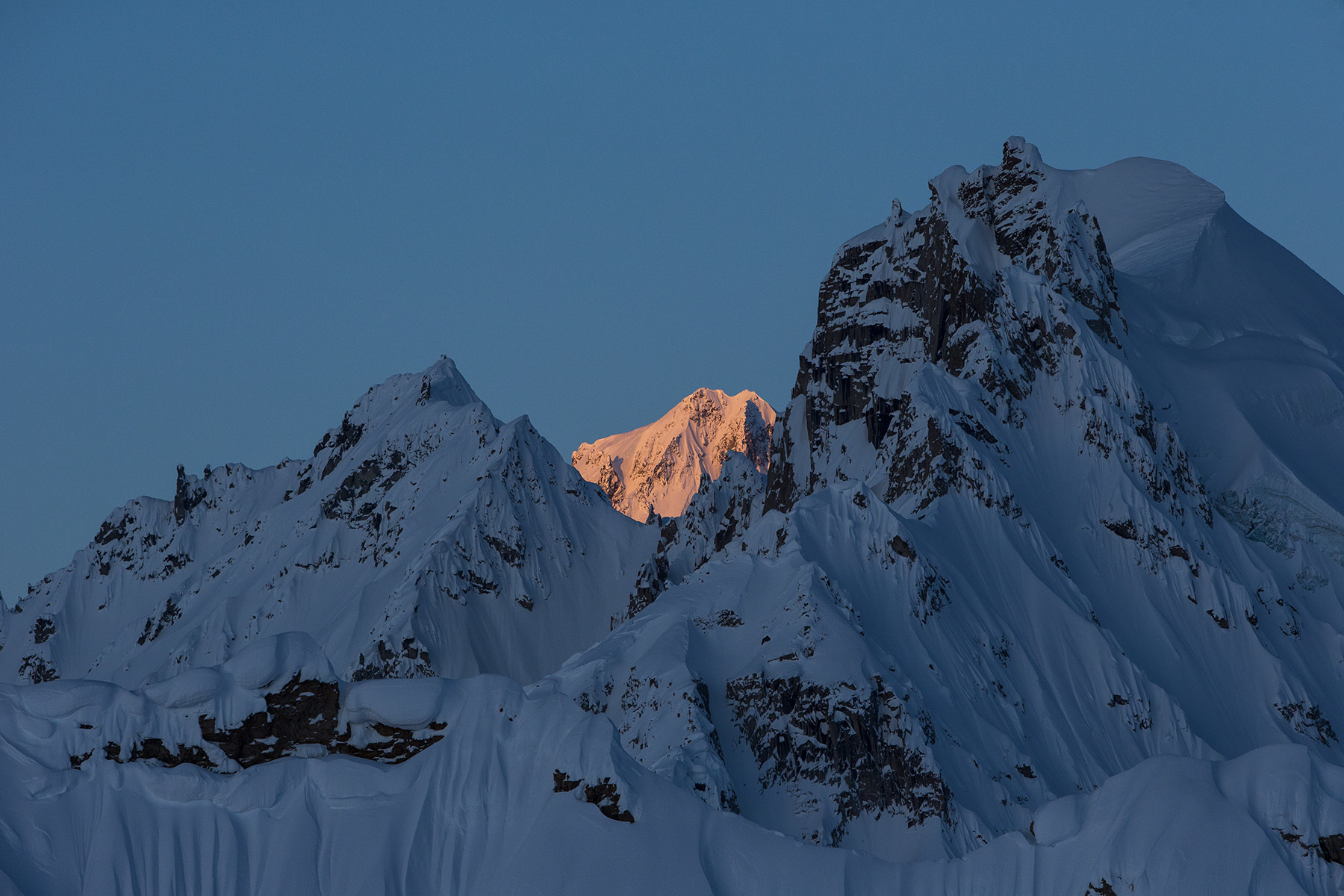 Tordrillo Mountains, Alaska