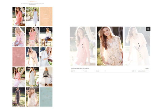 Introduce New Functionality for Collection LookBook.