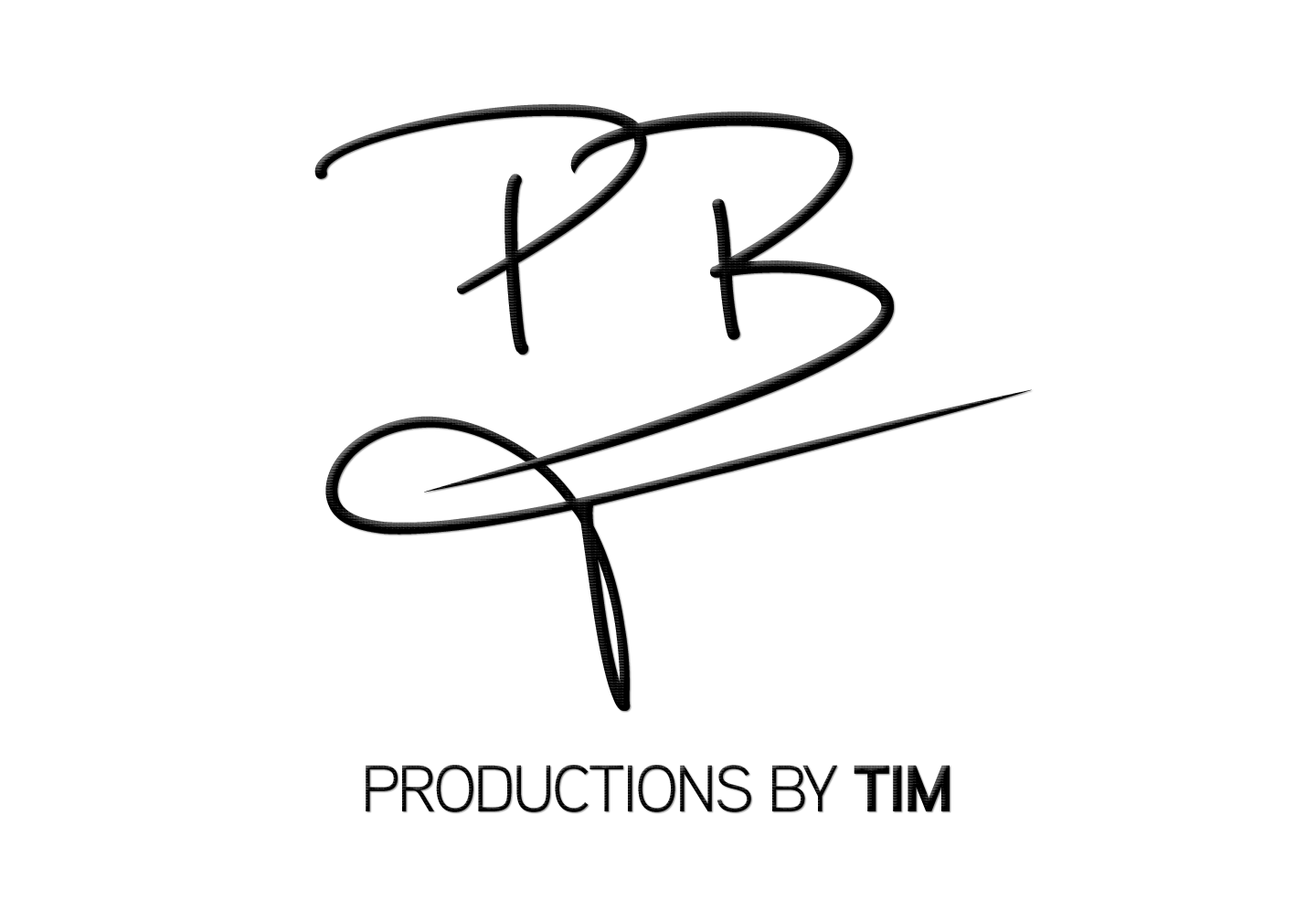 NEW Productions by Tim Logo Badge Black