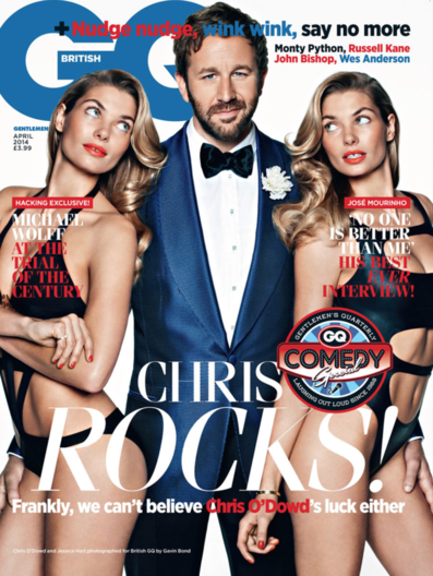 Chris O'Dowd GQ Comedy
