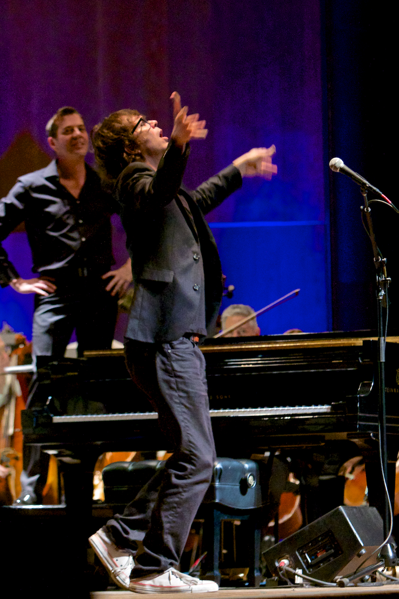 Acura/Els Presents The Ben Folds Orchestral Experience With The Philadelphia Orchestra  featuring his new piano concerto & his pop hits Conductor Steven Reineke The Mann Center Philadelphia, Pa June 24, 2014  DerekBrad.com