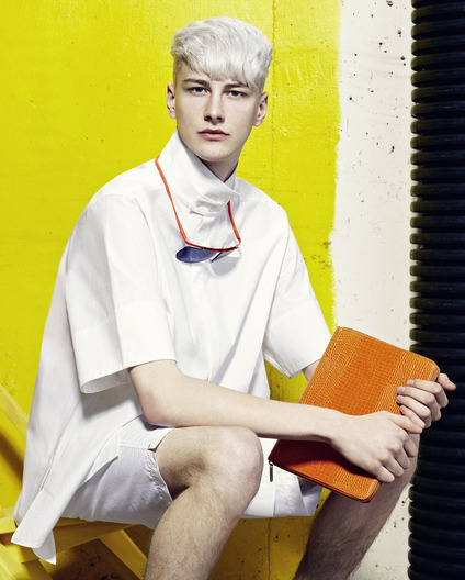 Mens Fashion shot by Simon Thiselton