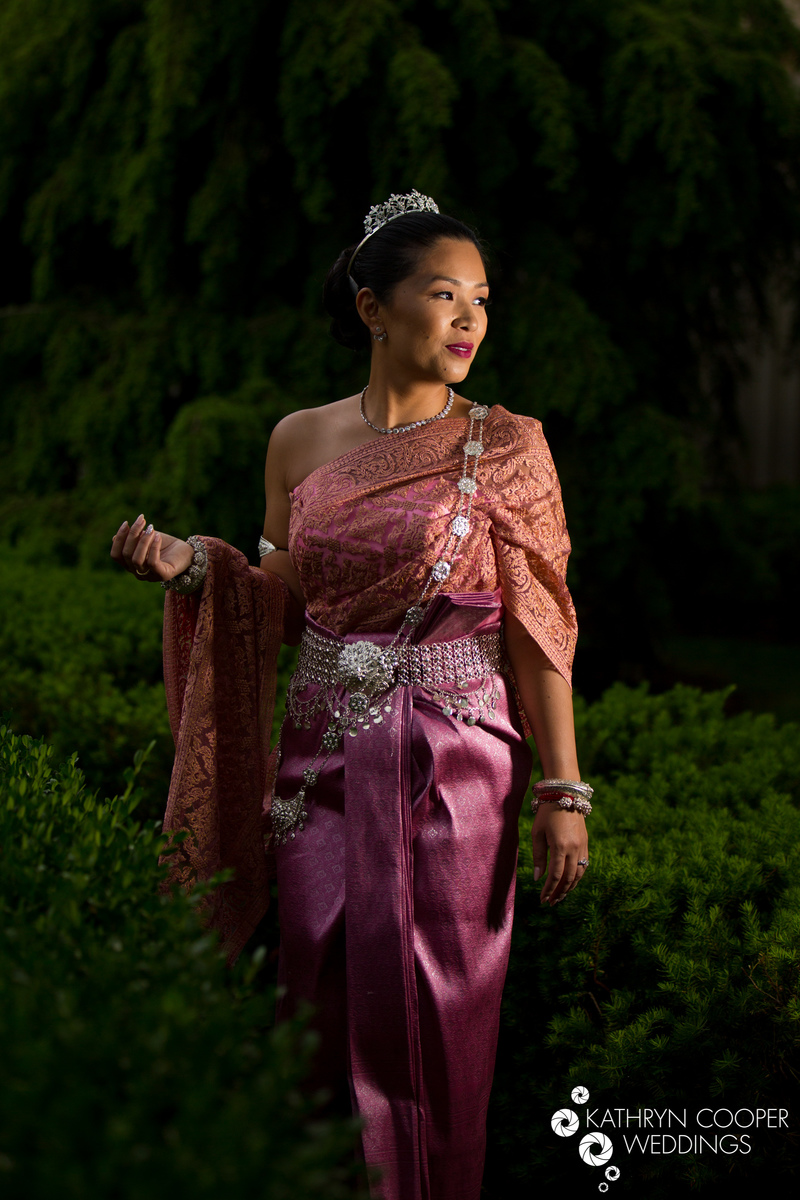 Cambodian wedding NYC - khmer bride in Bronx, USA at Marina del Ray by Kathryn Cooper Weddings