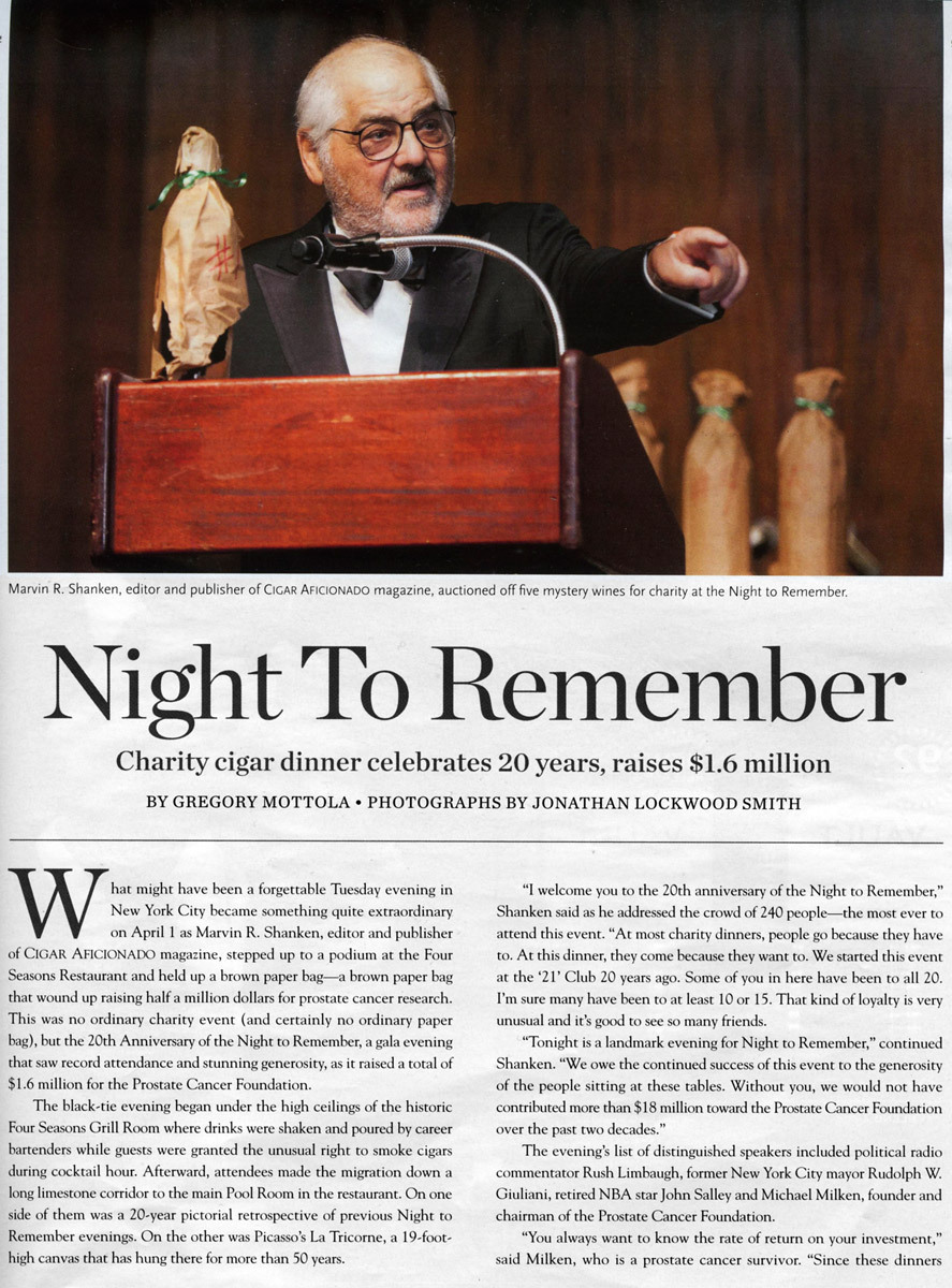 """Night To Remember"" 2014"