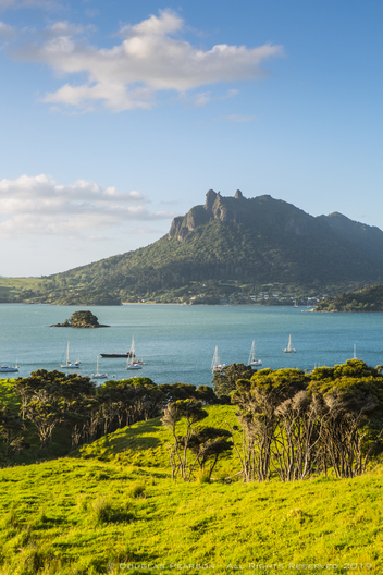 The majestic Mt. Manaia, Whangarei Heads, Northland, New Zealand