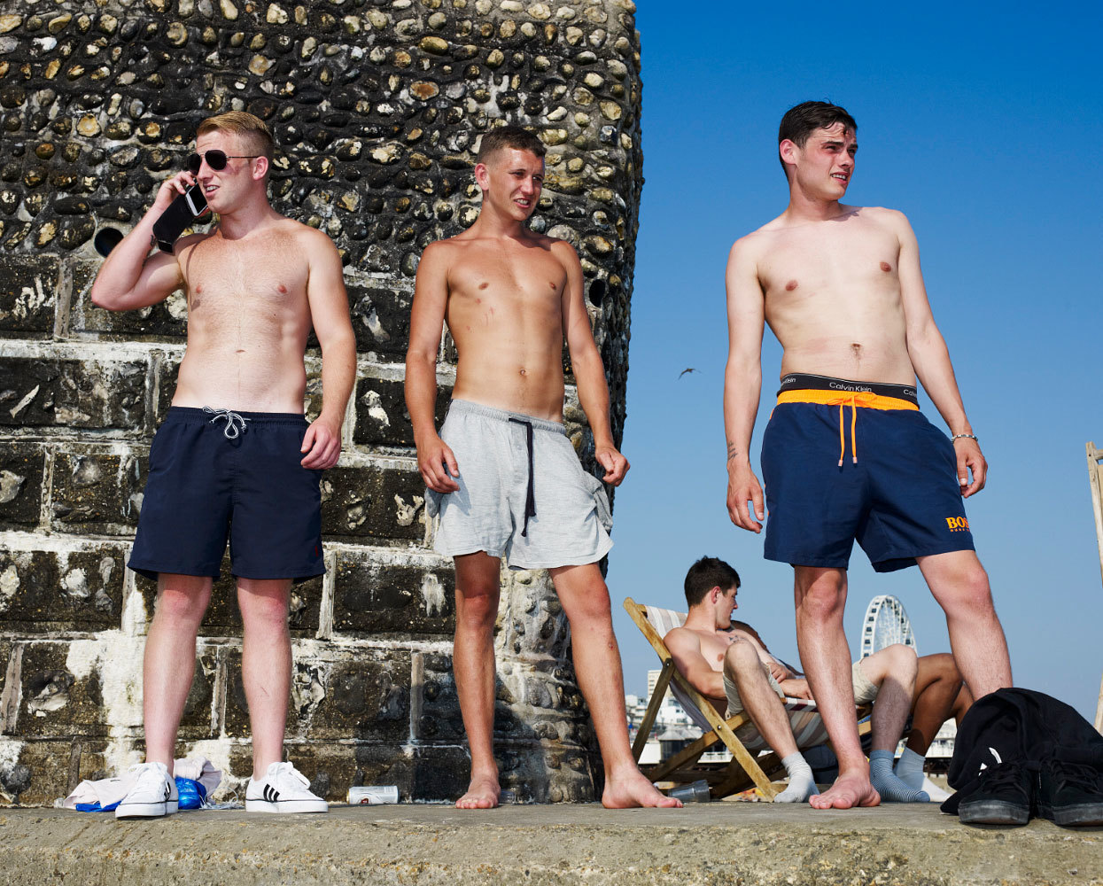 Brighton Boys, by Jessica van der Weert