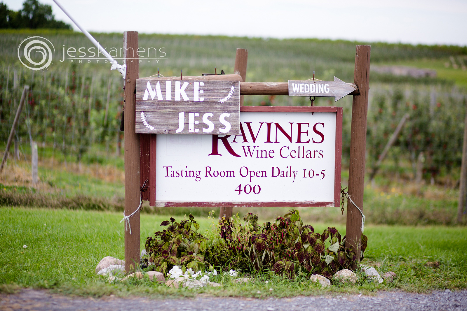 Ravines wine cellars outside of Rochester, NY