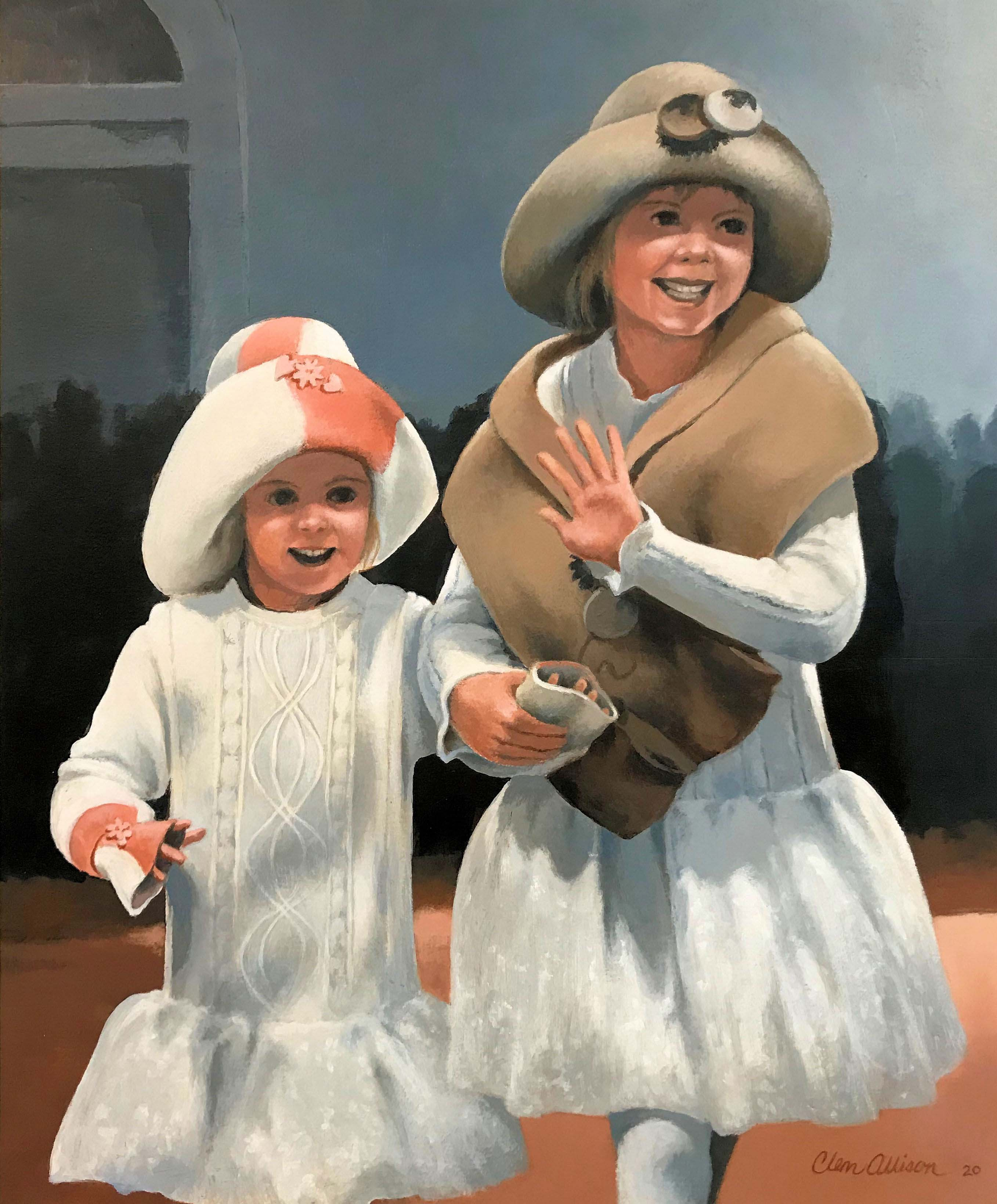 ELEANOR and SCHUYLER Acrylic 2020
