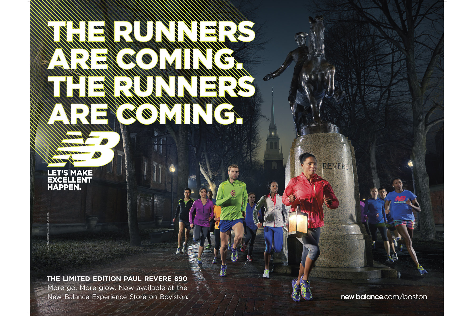 New Balance / Boston Marathon / John Huet