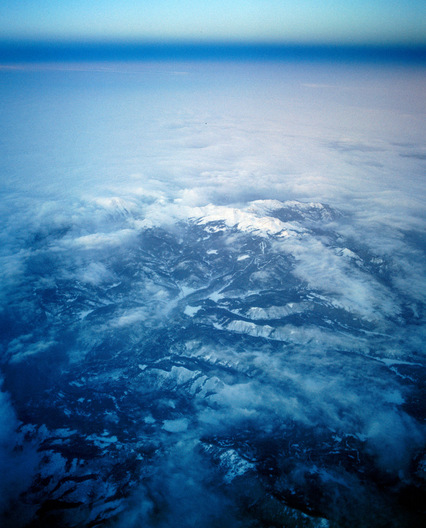over Rocky Mountains, Colorado