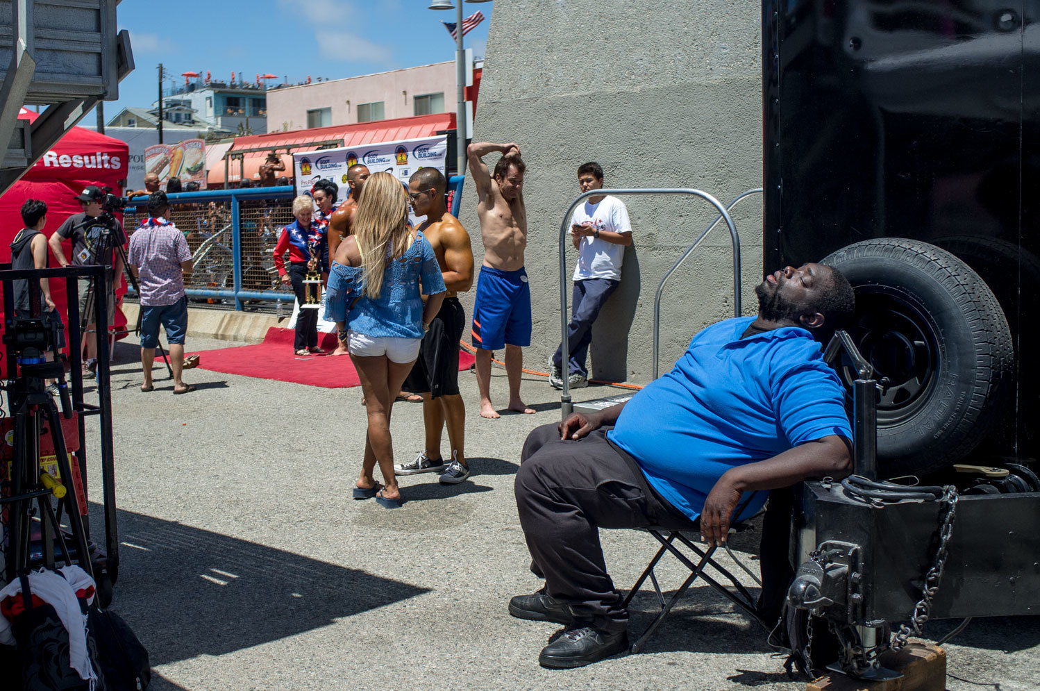 Venice Muscle. A summer with the Bodybuilders of Venice Beach, California.
