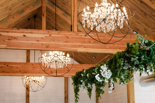 matildas event barn troy in wedding decor