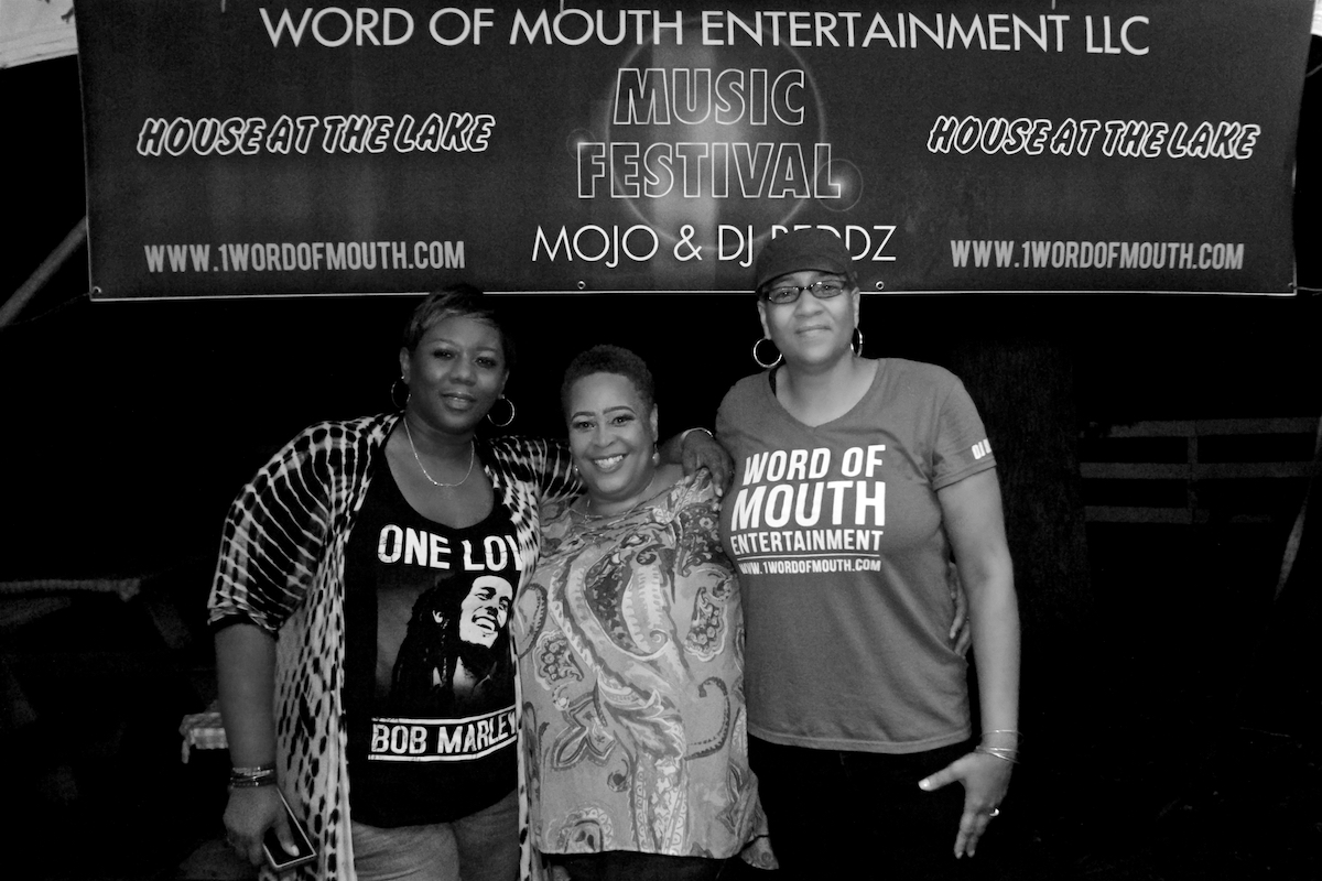 Lady Alma Word of Mouth Entertainment: House at the Lake Festival Bordentown, NJ August 11, 2018  DerekBrad.com
