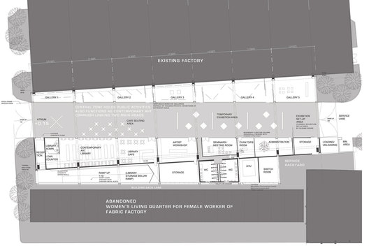 and lab museum contemporary art shanghai architecture plan1