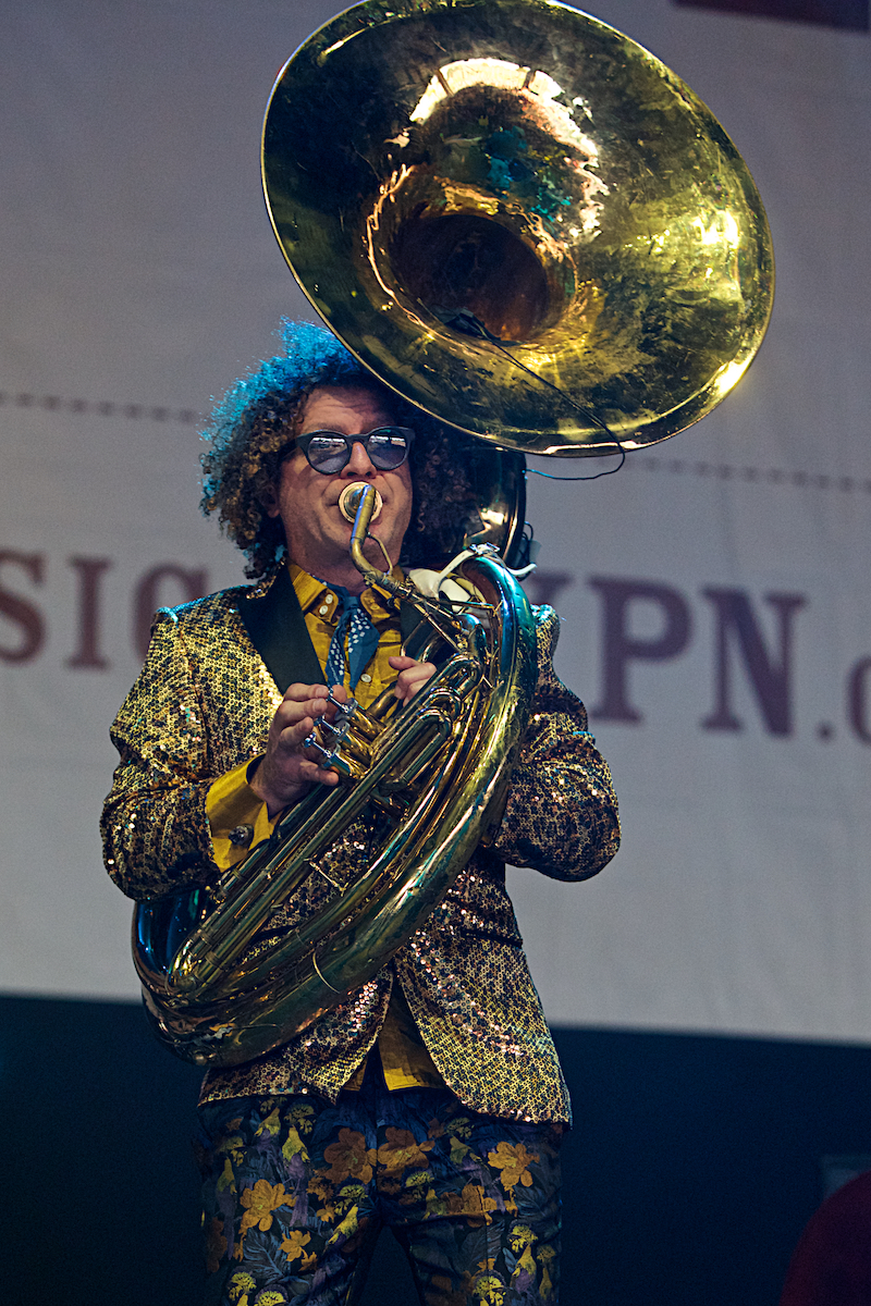 Preservation Hall Jazz Band 25 Years of XPoNential Music Festival  BB&T Pavilion Camden, NJ July 28, 2018  DerekBrad.com
