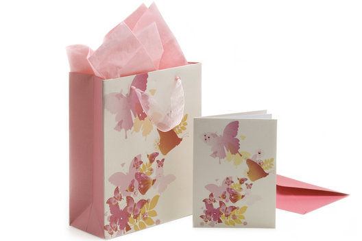 A range of gift cards and gift bags for Finest stationery.