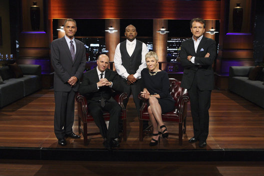 "SHARK TANK - From Mark Burnett, executive producer of ""Survivor"" and ""The Apprentice,"" and Sony Pictures Television comes ""Shark Tank,"" an exciting new reality show that gives budding entrepreneurs the chance to make their dreams come true and become successful - and possibly wealthy - business people. But the entrepreneurs must first try to convince five tough, multi-millionaire tycoons to part with their own hard-earned cash and give them the funding they need to jumpstart their ideas. Enter the Sharks of ""Shark Tank"" - Barbara Corcoran (Manhattan real estate titan), Kevin Harrington (king of infomercials), Robert Herjavec (technology tycoon), Daymond John (fashion mogul) and Kevin O'Leary (venture capitalist) - five multi-millionaires who lifted themselves up by their bootstraps to make their own entrepreneurial dreams come true and turned their ideas into empires. (ABC/CRAIG SJODIN)