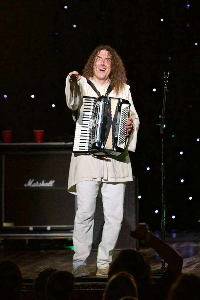 """Weird Al"" Yankovic Mandatory World Tour The Mann Center Philadelphia, Pa July 31, 2015  DerekBrad.com"