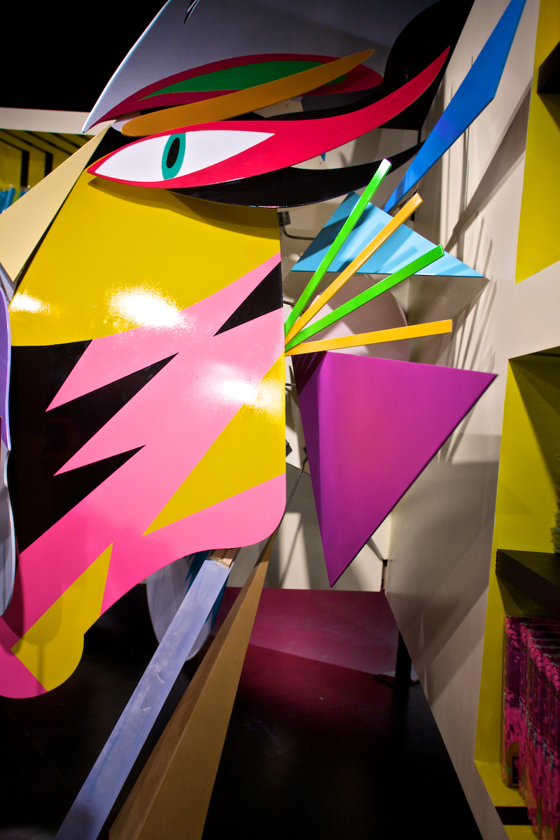 Barneys New York Desgin: Assume Vivid Astro Focus Art