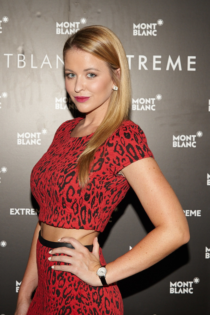 ATLANTA, GA - SEPTEMBER 25:  Kristen Ledlow attends the Montblanc celebration for the grand re-opening of the Atlanta Boutique with Kat Graham, Dave Annable and Kristen Ledlow September 25, 2014 in Atlanta, Georgia.  (Photo by Craig Bromley/Getty Images for Montblanc)