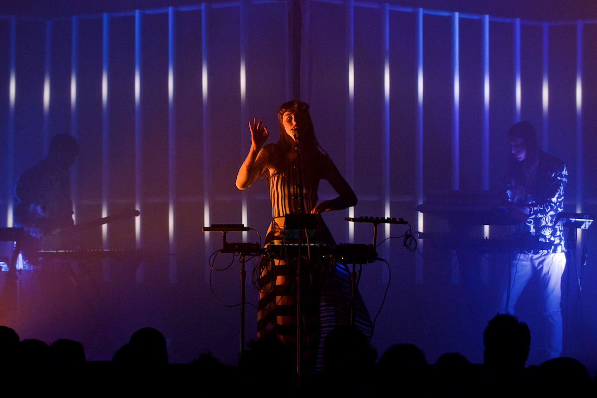 Kimbra Primal Heart Tour Union Transfer Philadelphia, Pa January 31, 2018  DerekBrad.com