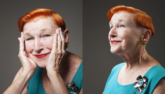 """The Irish go gray in their 20s, and I had no intention of going gray. I started henna-ing it in the '70s because I loved legendary musical theater performer Gwen Verdon's fiery hair.  A number of years ago, I spied her having lunch and decided to tell her.  Without missing a beat, she said. ""Yeah kid, now we both have orange hair."" I henna it every five to six weeks. I even bring henna on the road while touring with my latest book, Manhattan to West Cork. My husband does it. People love it."""