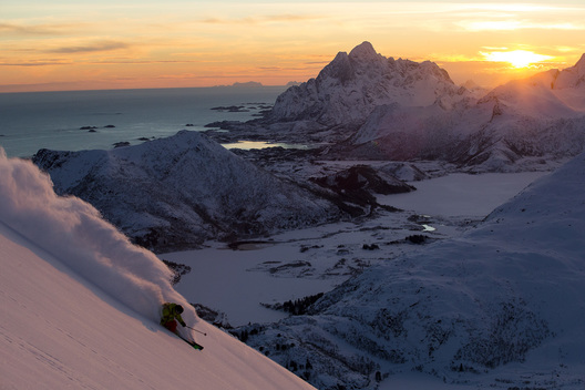Stian Hagen, Lofoten, Norway
