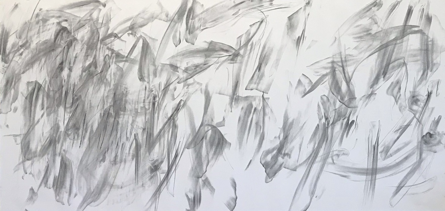 Graphite | Charcoal on Rives  62 x 84 inches