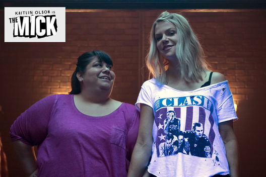 "THE MICK:  L- R: Carla Jimenez and Kaitlin Olson in the ""The Grandparents""  premiere of THE MICK airing Tuesday, Jan. 3 (8:31-9:01 PM ET/PT on FOX. 2016 Fox Broadcasting Co. CR: FOX"
