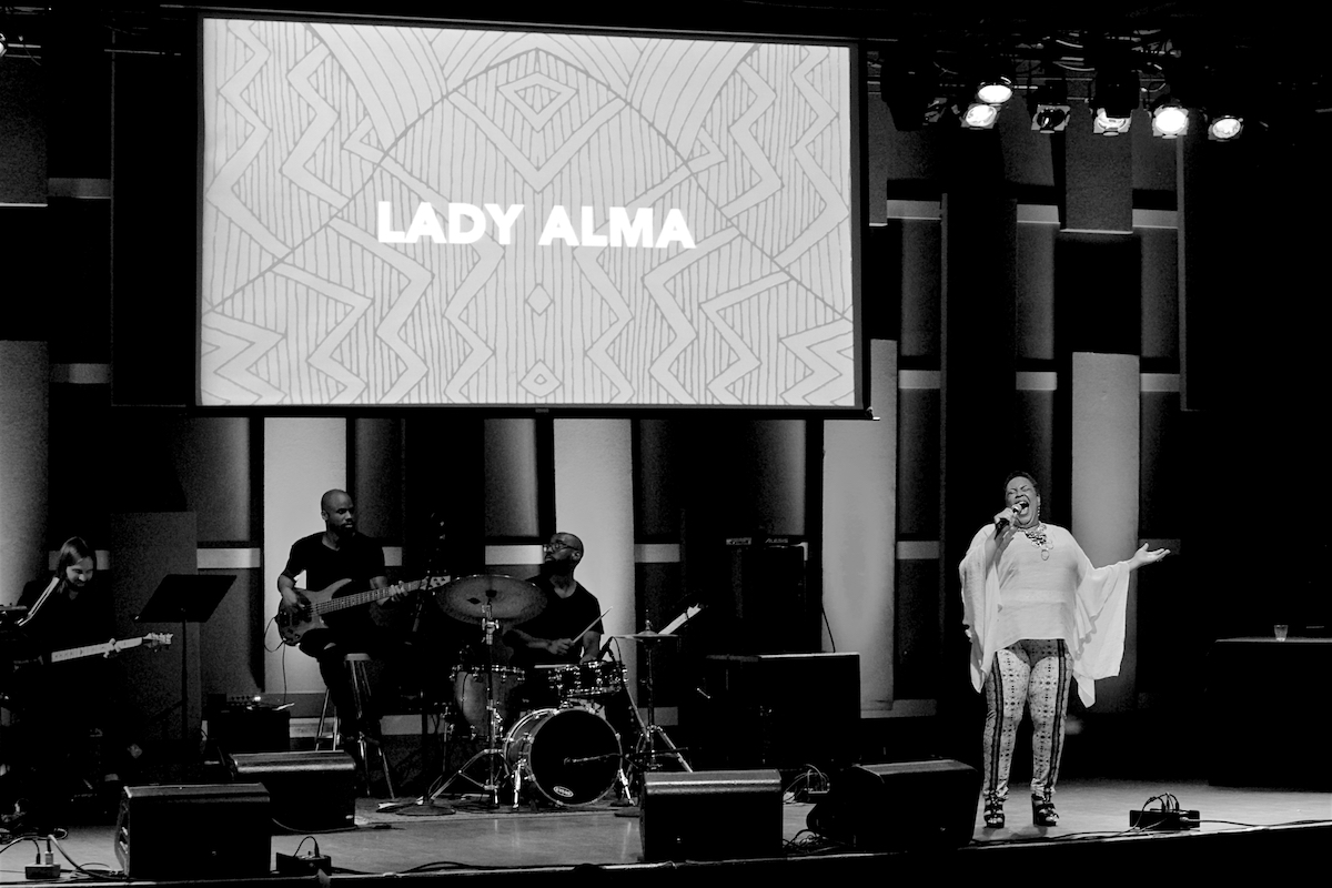 Lady Alma Performer Blackstar 7th Annual Film Fest Awards World Cafe Live Philadelphia, Pa August 5, 2018  DerekBrad.com