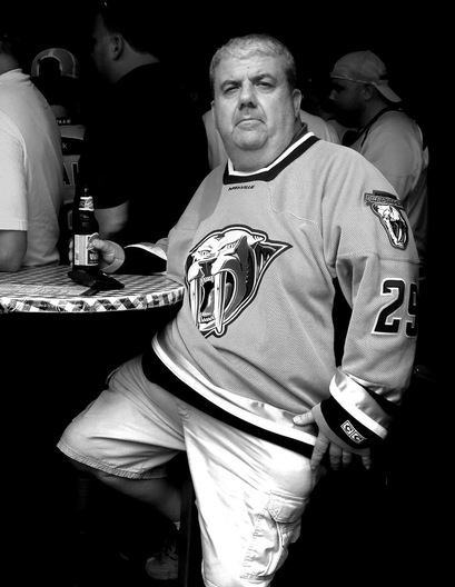 Hockey Fan, Game Preps - Nashville, Tennessee